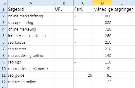Rank-i-Excel